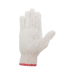 勞保手 紅花700克加厚加密棉紗手套機械搬運機修線手套耐磨線手套