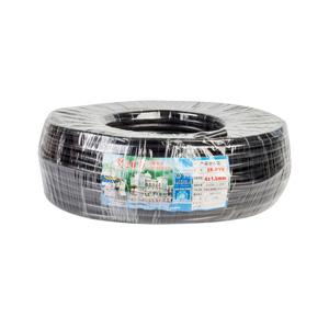 珠江 阻燃铜芯多股护套线 ZR-RVV 4*1.5 黑 100M
