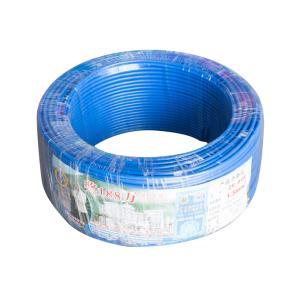 珠江 阻燃铜芯单塑多股线 ZR-BVR 1.5平方 蓝 100M