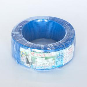 珠江 阻燃铜芯单塑多股线 ZR-BVR 2.5平方 蓝 100M