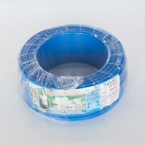 珠江 阻燃铜芯单塑多股线 ZR-BVR 4平方 蓝 100M