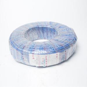 网联 铜芯单塑单股电线 BV 16平方 蓝色 100M