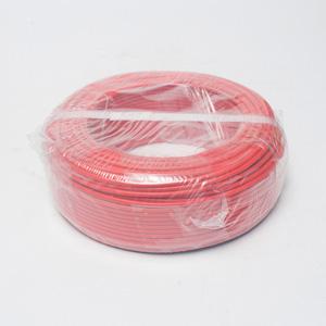 网联 铜芯单塑多股电线 BVR 2.5平方 红色 100M