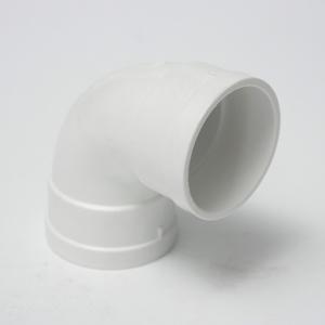 五一PVC排水顺水弯头dn50白色