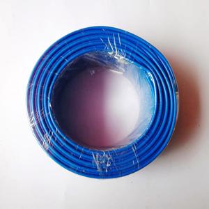 新亚 铜芯双塑多股线 BVVR 1*1.5 蓝