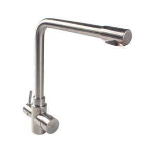 银超卫浴 三水道冷热厨房龙头 SUS304材质 8143