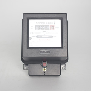 德力西 单相电表 DD862 2.5(10)A