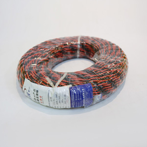 消防阻燃雙絞線 國標純無氧銅ZR-RVS雙絞線2X1.0 消防報警花線