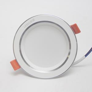 公牛LED筒燈3.5w暖白3寸照明燈冷白筒燈牛眼燈暖白3000K7.5公分燈