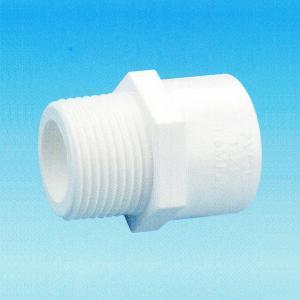 """莱福达 PVC-U 给水外丝直接头 φ50*1-1/2"""""""