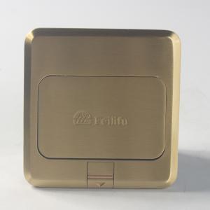 飞利富 HTD-1带阻尼二三插 铜色