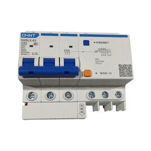 正泰 剩余电流动作断路器 NXBLE-63 3P C63 30mA 6KA