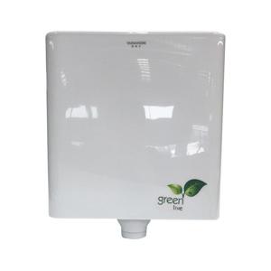 KJS 節能 蹲廁沖水箱廁所靜音水箱踏便器蹲便器沖水箱雙按鍵水箱