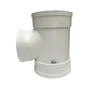 PVC斜三通 排雨水管45度等径异径三通 下配件50 75 110 160 200*