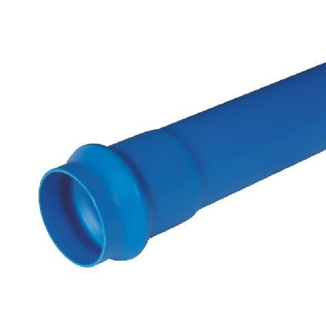 联塑 PVC-U给水扩凸口管(含胶圈)(0.63MPa)蓝色 dn200 6M