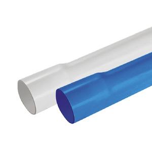 联塑 PVC-U给水扩直口管(1.6MPa)蓝色 dn40 6M