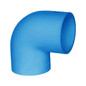 联塑 90°弯头(PVC-U给水配件)蓝色 dn225