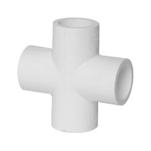 联塑 90°四通(PVC-U给水配件)白色 dn20