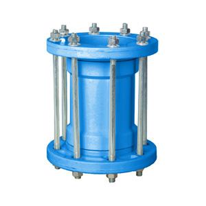 联塑 抢修接头(PVC-U给水配件)蓝色柔性 dn110