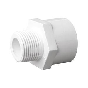 """联塑 外丝异径直接头(PVC-U给水配件)白色 dn32XR1/2"""""""