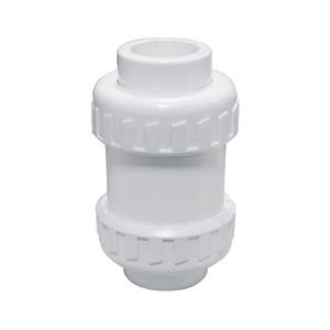 联塑 立式球型(双活接止回阀)(PVC-U给水配件)白色 dn63