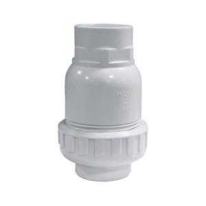 联塑 立式球型止回阀(PVC-U给水配件)白色 dn20