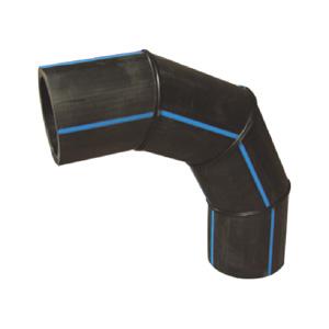 联塑 90°焊接弯头1.6MPa(PE配件)黑色 dn315