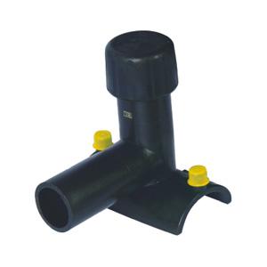 联塑 电熔封堵鞍型(PE配件)1.6MPa黑色 dn200