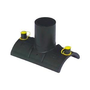 联塑 电熔直通鞍型(PE配件)1.6MPa黑色 dn315×160