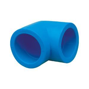 联塑 90°承插弯头(PE配件)蓝色 dn110