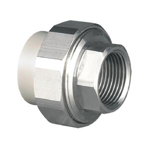 """联塑 内螺纹管接头(金属与塑胶)(PP-R 配件)灰色 dn25×3/4"""""""