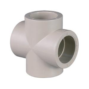 聯塑PVC水管配件魚缸直接管卡彎頭三通四通管接頭塑料配件膠水