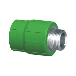 """联塑 外螺纹直接头Ⅰ型(精品家装管PP-R配件)绿色 dn20×3/4""""(LS)"""