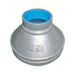 联塑 沟槽式异径管固(沟槽式)涂塑(PE)钢塑复合管件(冷水用) dn100X65