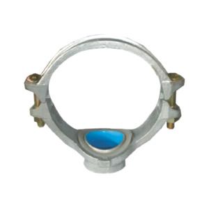 联塑 沟槽式机械三通涂塑(PE)钢塑复合管件(冷水用)200X100