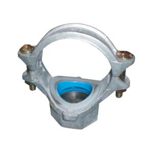 联塑 螺纹式机械三通(沟槽式)涂塑(PE)钢塑复合管件(冷水用) dn150X80