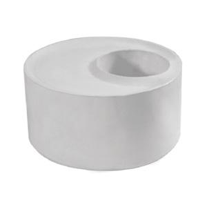 联塑 焊接大小头PVC-U排水配件白色 dn400×250