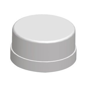聯塑PVC藍色水族水管 PVC-U水管配件 藍色 管帽 PVC管帽 堵頭