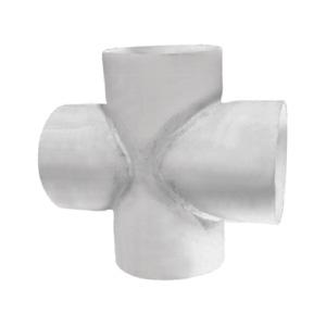 联塑 焊接四通PVC-U排水配件白色 dn400