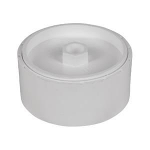 联塑 地坪清扫口PVC-U排水配件白色 dn75