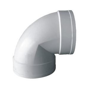 联塑 90°直角弯头PVC-U排水配件白色 dn250