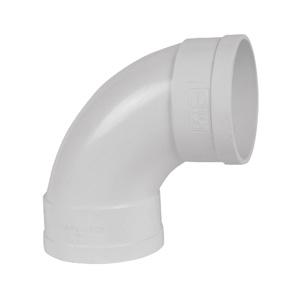 联塑 88°弯头(大弧度)PVC-U排水配件白色 dn110