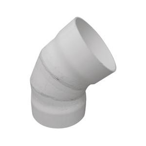 联塑 45°焊接弯头PVC-U排水配件白色 dn630