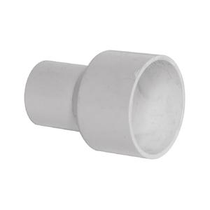 联塑 管大小直通PVC电工套管配件白色 25/20