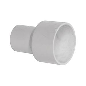 联塑 管大小直通PVC电工套管配件白色 50/40