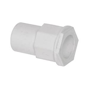联塑 异径管接头PVC电工套管配件白色 φ25×20