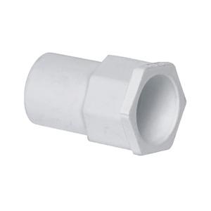 联塑 异径管接头PVC电工套管配件白色 φ32×20