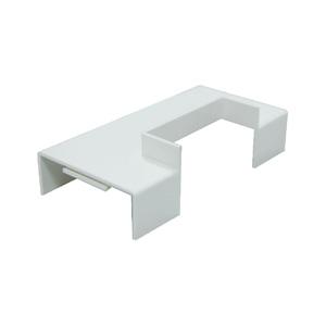 联塑 槽角形三通PVC电线槽配件白色 50×25