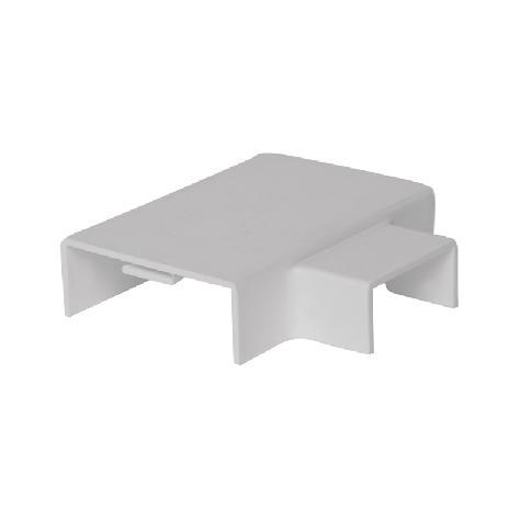 联塑 中小三通PVC线槽配件白色 24×14/30×15
