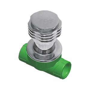联塑 暗阀(精品家装管PP-R配件)绿色 dn25(LS)
